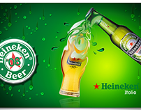 Heineken | Key Visual and Merchandising