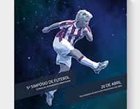 "Cartaz ""5º Simpósio de Futebol"""