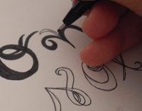 Le Mariage - experimental alphabet
