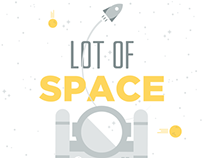 Lot of space | Illustrazioni