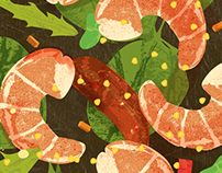 Food Illustrations - Special Project