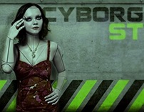 Cristina Ricci as cyborg