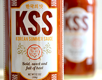 KOREAN SUMMER SAUCE - label and logo