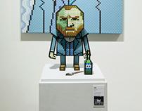 Pixel art x Paper Toy