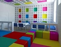 Daycare room interior
