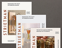 Strietman visual identity