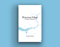 Waterston Village - book cover & internal page design