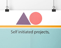 'Self initiated projects are like playgrounds'