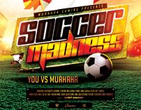 Soccer Advertisement for Raketspel & MuaHaHa Gaming