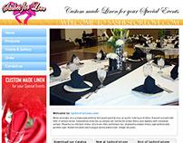 Sashes for Love Web design