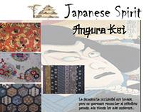 Textiles trend board: Japanese Spirit