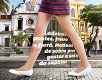 Homenagem a Recife e Olinda - Esposende Calçados