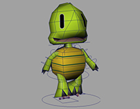 Low Poly Characters Modeling Texturing for Videogames