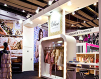 Rare Fashion Exhibition Stand