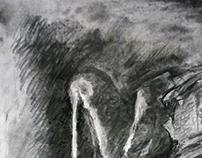 Charcoal Drawing Studies
