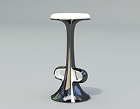 Boom bar stool concept.