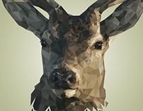 Detailed Low Poly - Deer