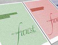FAUST Typografische Interpretation d. geflügelten Worte