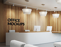 Office Branding Mockups