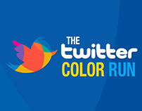 Costanera Center - The twitter color run