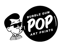 Logo: Bubble Gum Pop Prints