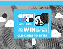 Oreo Open Up Wonder Microsite