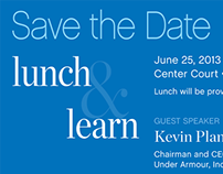 Lunch & Learn Invitation