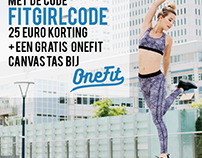 One Fit x FITGIRLCODE banner