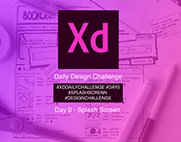AdobeXD Daily Challenge Day0-Splash Screen