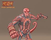 Hellboy Tron