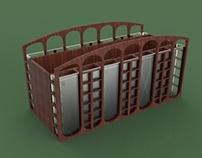 Supply Carrier Inspired by Charles Rennie Mackintosh