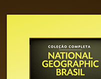 National Geographic 10 Years in Brasil Display