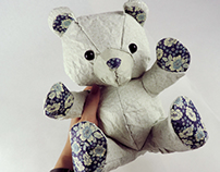 Crumple: Paper Teddy Bears