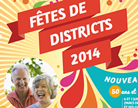 Fêtes de districts 2014