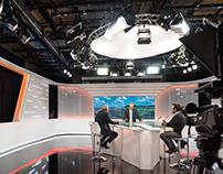 Studio Set RTC Liège