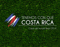Costa Rica en Brasil 2014