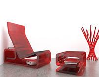 G R E C A. (Lounge Chair)