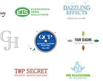 Logos, graphics and monograms
