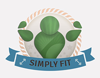 SimplyFit Logo - Branding