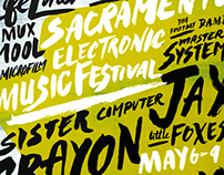 Sacramento Electronic Music Festival Campaign