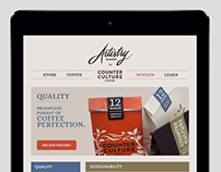Artistry Blends | Microsite