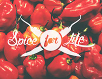 "Inga's Hot Sauce ""Spice for life"" 