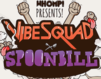 Vibesquad tour artwork