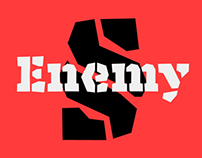Enemy Typeface: Lost Type