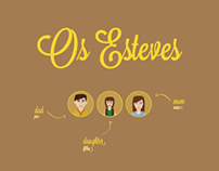 Os Esteves | Infography