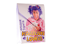 Harajuku Lovers - Stockings Packaging & Adshel Poster