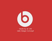 Beats by Dre Web Design Concept