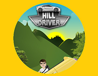 Design + UI App Hill Driver