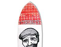 Skate Art @matdisseny • Steve Caballero Tribute