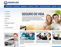 Layout páginas internas - Site Amarilios Seguros